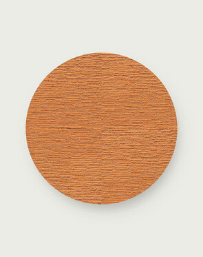 Made You Look Round Rug - Clementine - 3.25 Diameter