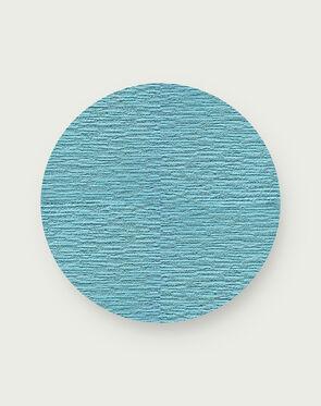 Made You Look Round Rug - Light Blue - 3.25 Diameter