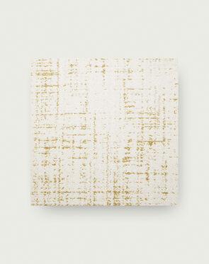 Tuxedo Pocket - Bone / Gold