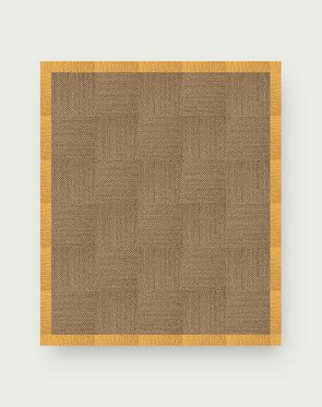Suit Yourself Quarter Border - Raffia / Marigold - 9x11