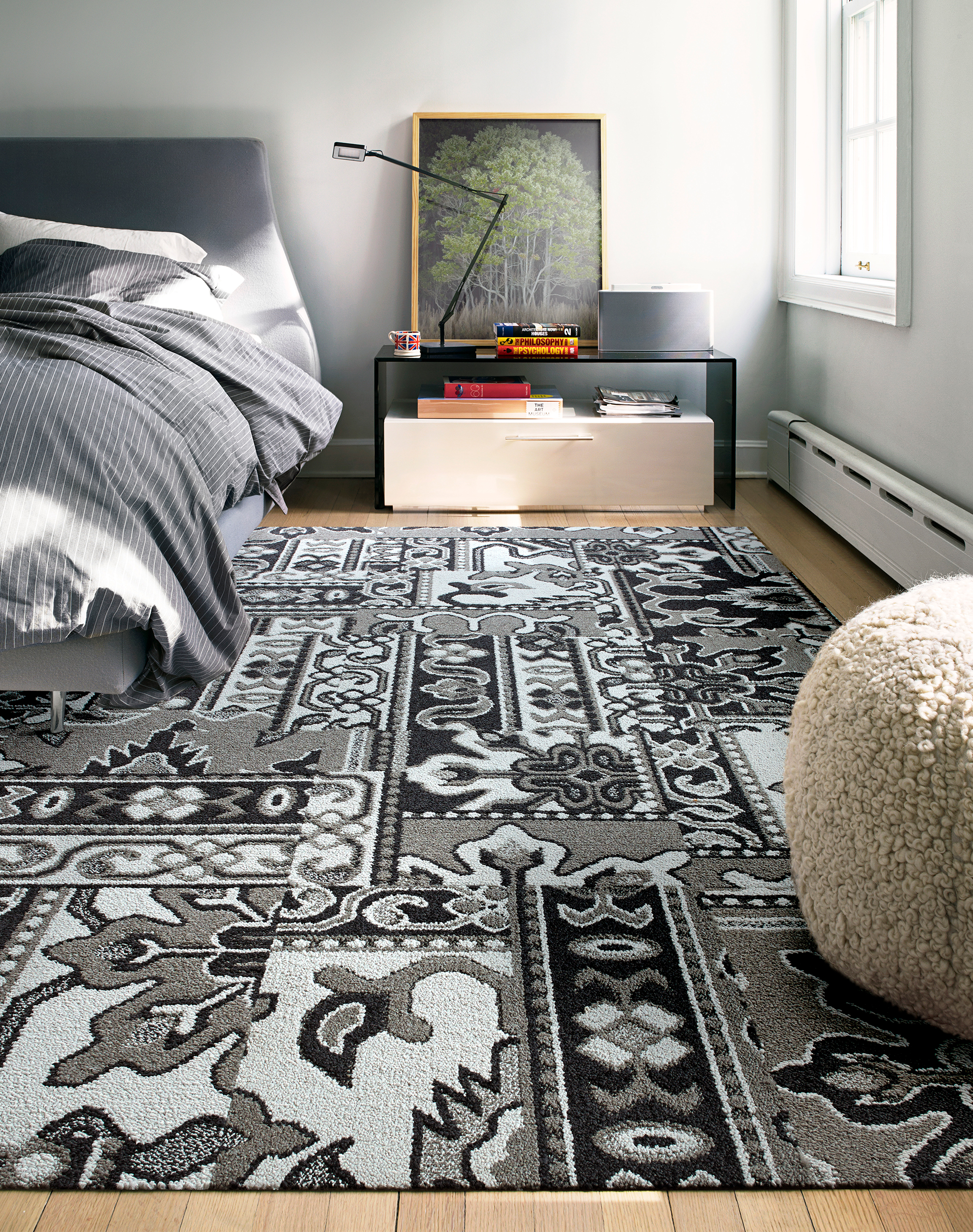 Turkish Bloom - Grey