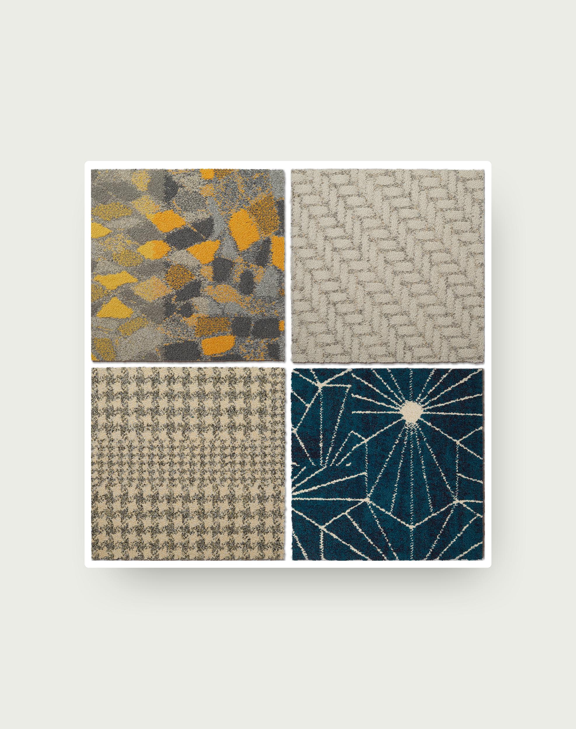 CushionBac Random Pattern Tile