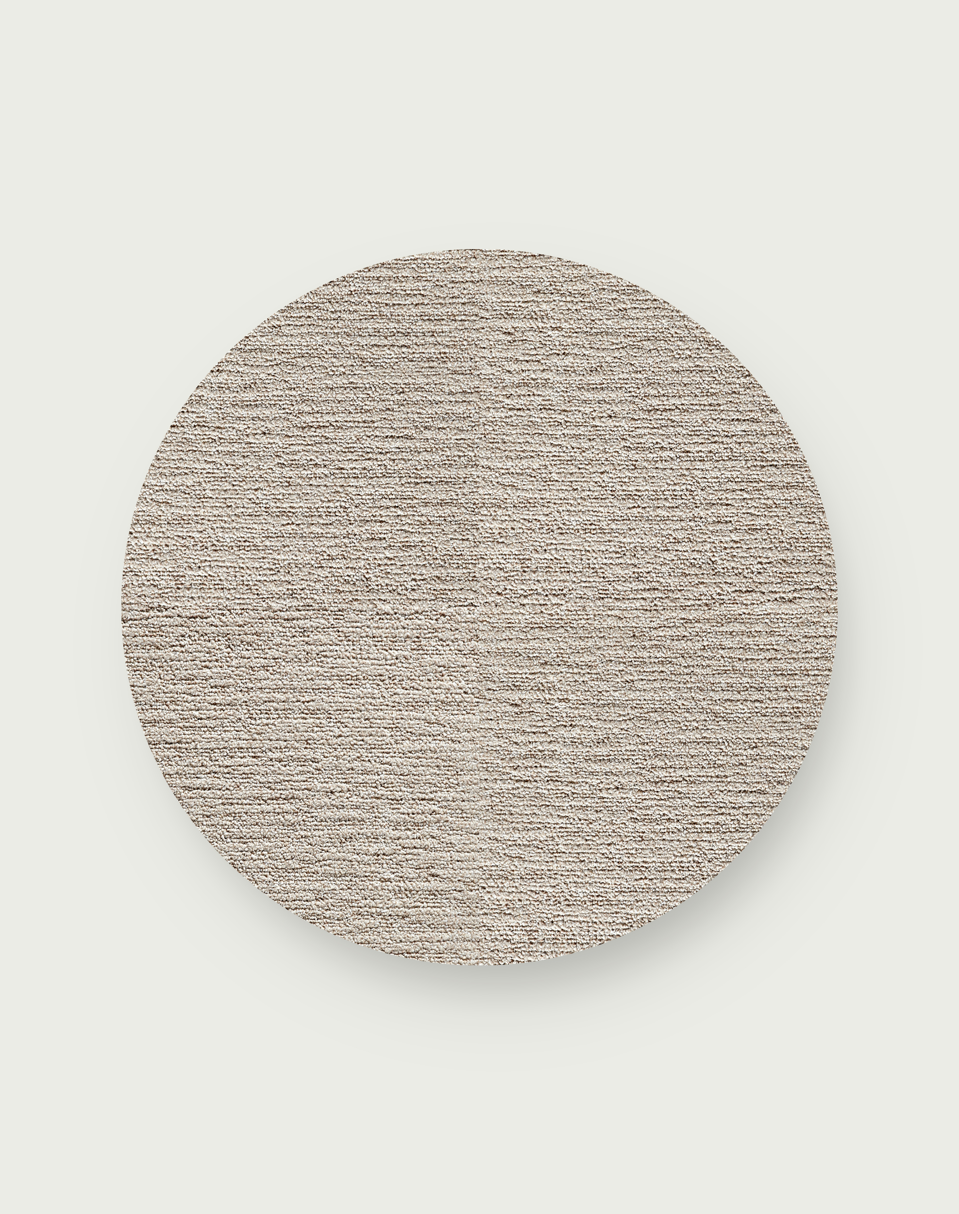 Made You Look Round Rug - Beige - 3.25 Diameter